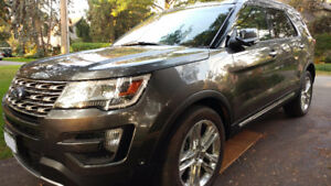 2016 Ford Explorer Limited TOW, BLIS, 360sensor & 2nd ROW BUCKET
