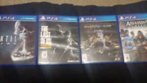 Selling these PS4 Games
