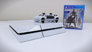 White Ps4 (2 Tb HDD upgrade) with Destiny