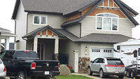 We do siding, roofing, fences, decks, windows, doors, eaves etc.