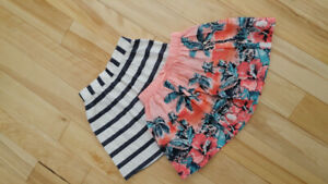Beautiful NWOT girls' skirts Size 4