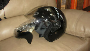 motorcycle helment HJC black