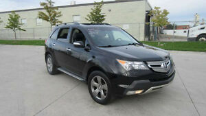 2007 Acura MDX, Eliit pkg Navigation, DVD 3/Y warranty available