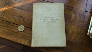 20th Anniversary Anthology, Reader's Digest, 1941