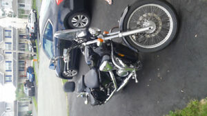 2006 Honda Shadow VLX,Lady owned&driven since new.