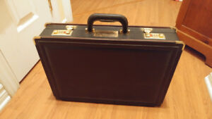 Valise/Porte Documents en cuir