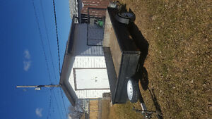 **UTILITY TRAILER IN EXC. COND**