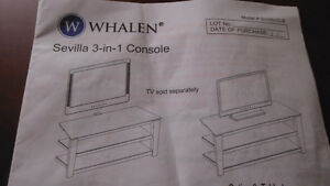 WHALEN TELEVISION STAND - MULTI USE