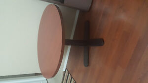 Round wooden table $50