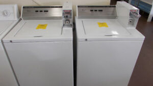 Coin operated washers. $700. each. 90 day warranty.