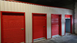 Roll-up storage unit doors: 6x7 and 4x7