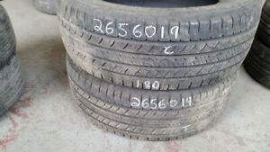 Pair of 2 Michelin Latitude Tour 265/60R19 tires (60% tread life