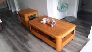 Coffee & end table