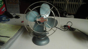 Vintage fans torcan and electrohome