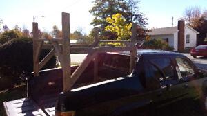 Honda Ridgeline -Wooden Back Rack