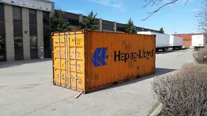 Good Shape 40' and 20' Storage and Shipping Containers - Used