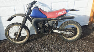 For sale yz 490 dirt bike.