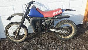 For sale yz 490 dirt bike.