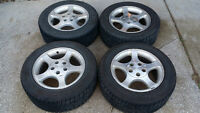 Mustang Rims and Tires - Firehawk wide oval AS P225/55R16