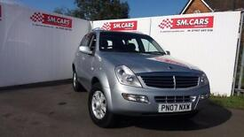 2007 07 SSANGYONG REXTON 2.7 TD RX 270 SE SPORT.NICE LOW MILEAGE EXAMPLE.2 KEYS.