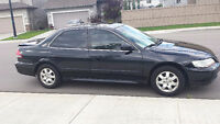 HONDA ACCORD, LADY DRIVEN BLK, 4 DR. LOADED! ASKING $3900. OBO