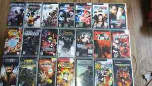Psp games and umd video movies
