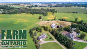 Productive Oxford County Land with Stately 2 Storey Home!