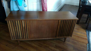 Record player and radio cabinet