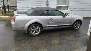 2006 Ford Mustang cuire Cabriolet