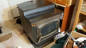 pellet stove works great, no troubles
