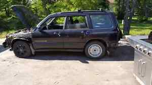 2001 subaru Forester s Ltd for parts