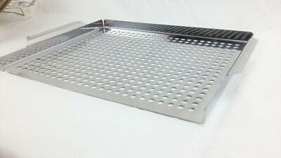 Grill Grid Topper Large Stainless Steel 16x12 Mr Bar-B-Q 06032 ()