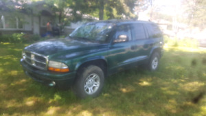 2003 Dodge Durango  V8 4x4 7 Seater