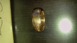 1 gold ring one of a kind ring
