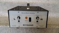 Vintage Citronic Stereo Power  Amplifier - made in england -