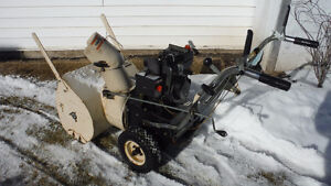 24 in. 5 h.p. snowblower- electric start