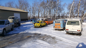 WANTED - old VWS - dead or alive!  Buses, bugs, trucks, campers