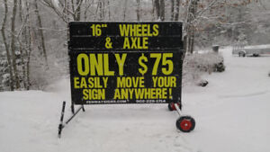 Planter Box Signs / Portable Signs
