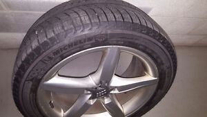 Audi A4, 245/45 R18 OEM Wheels and Michelin X-Ice Xi3