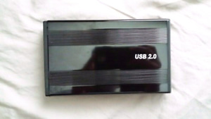 USB 2.0 IDE HardDrive enclosure
