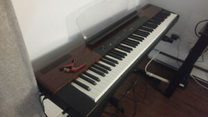 Yamaha P-120 Portable Electric Piano with keyboard stand