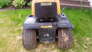 """Poulan Pro 20 hp lawn tractor with 46"""" deck"""