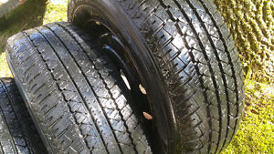 P215 70 R15 tires for sale.
