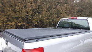 Roll Up Tonneau Cover for 8 Foot Toyota Tundra Box