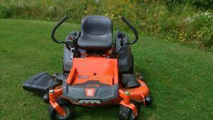 "Husqvarna 54"" zero turn lawn mower"
