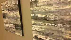 Abstract art - new. Original. Local artist. Kitchener / Waterloo Kitchener Area image 3