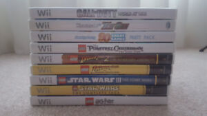 Wii Video Games (Lego and others)