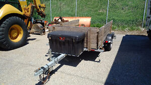 5' x 8' Utility/Dual Motorcycle Trailer