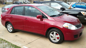 Super Clean 2007 Nissan Versa(E test only)