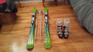 Alpine complete ski kit / Ensemble complet de skis alpin